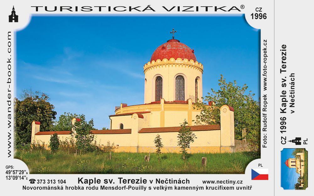 Kaple sv. Terezie v Nečtinách