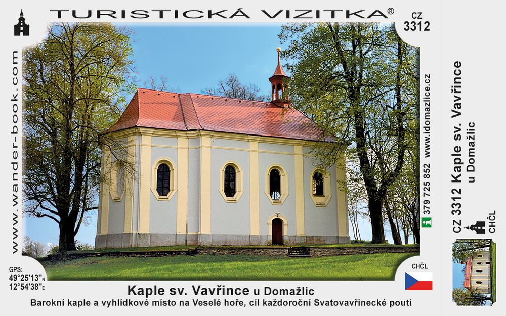 Kaple sv. Vavřince u Domažlic