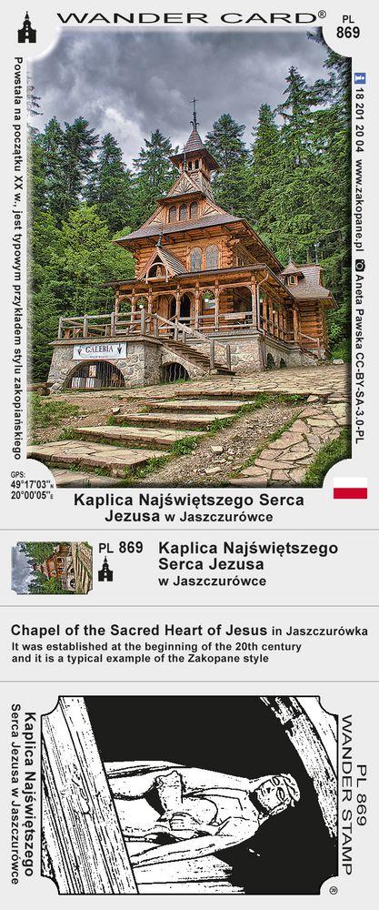 Kaplica NSPJ w Jaszczurówce
