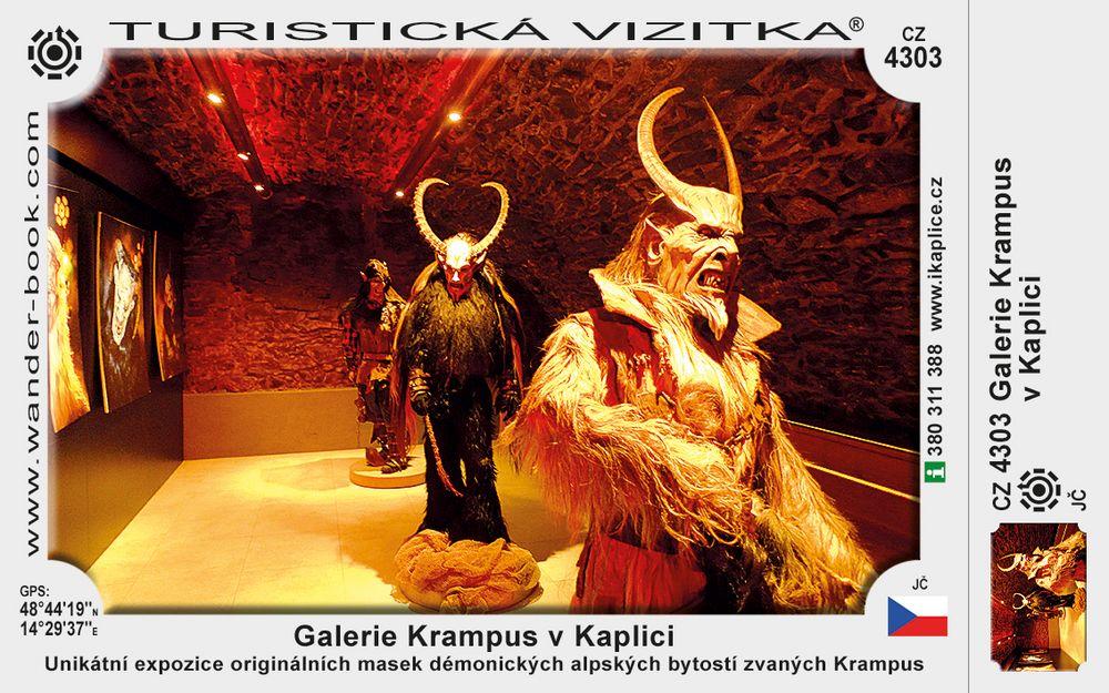 Galerie Krampus v Kaplici