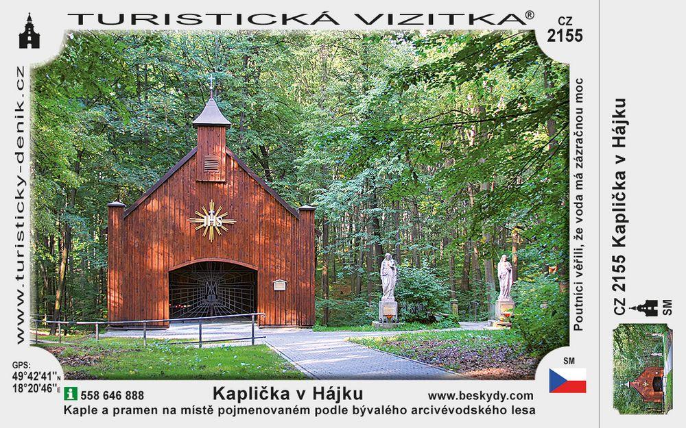 Kaplička v Hájku