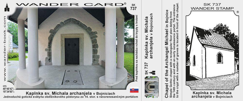 Kaplnka sv. Michala archanjela v Bojniciach