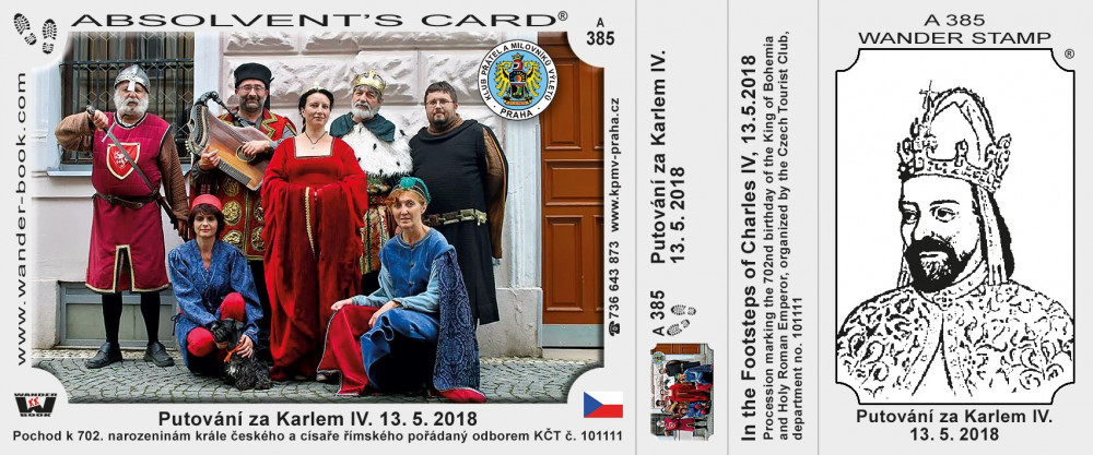 Karel IV pochod 2018