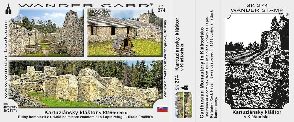 Kartuziánsky kláštor v Kláštorisku