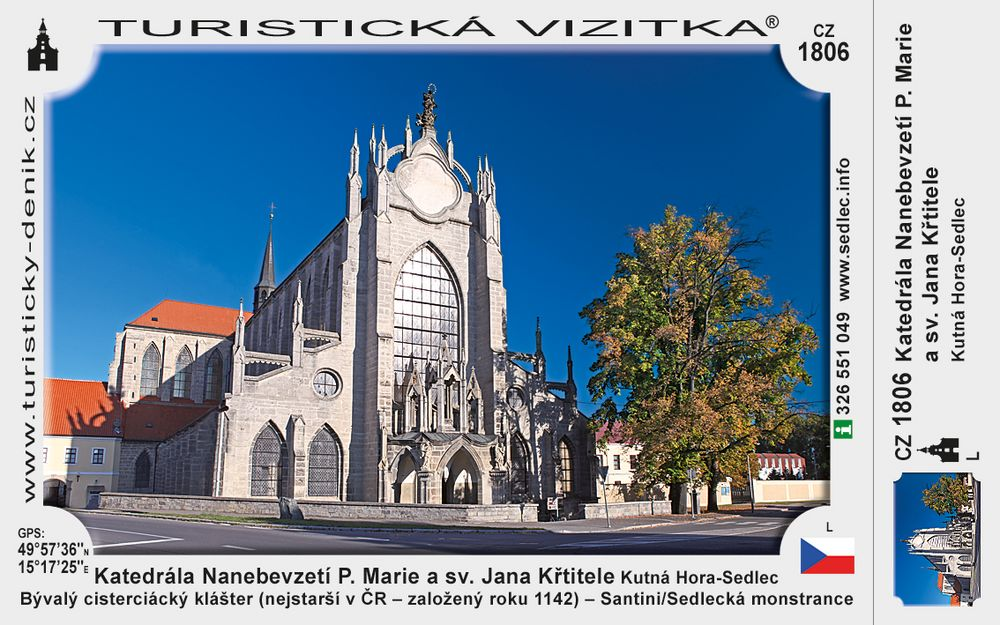 Katedrála Nanebevzetí P. Marie a sv. Jana Křtitele v Kutné Hoře – Sedlci