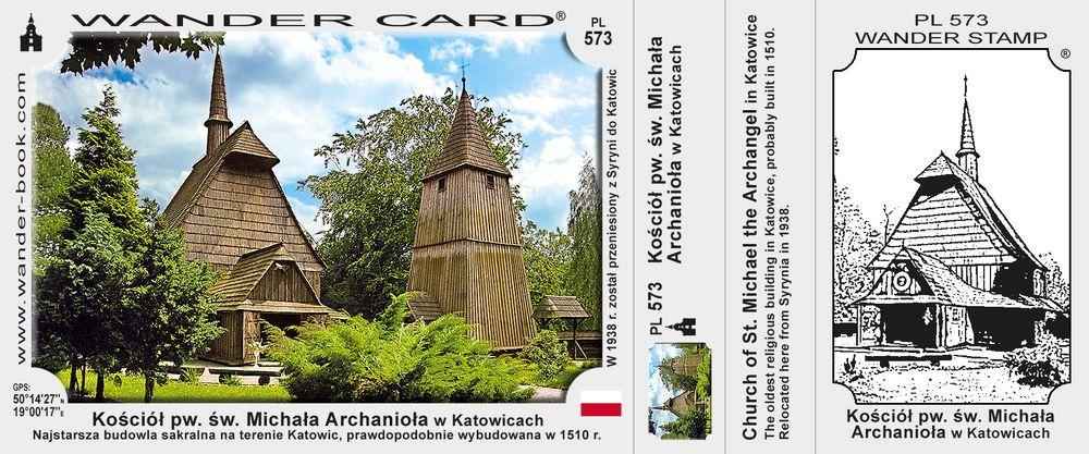 Katowice kościół drewniany św Michała