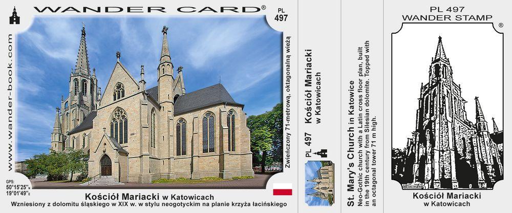 Katowice kościół Mariacki