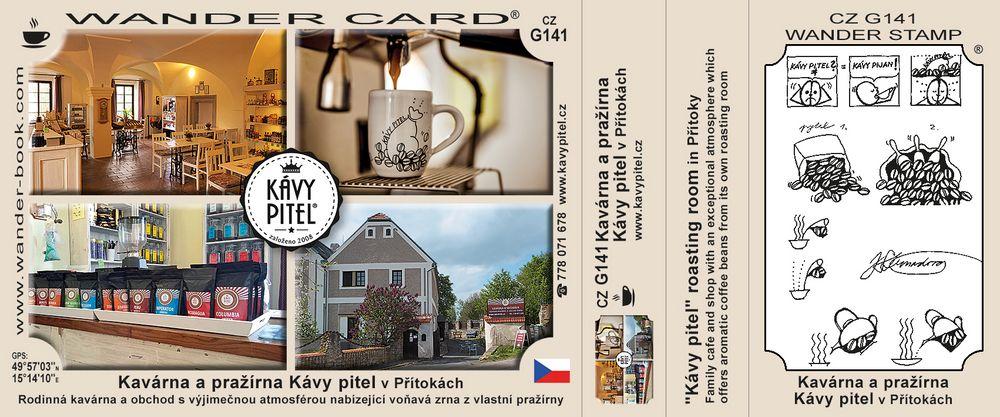Kavárna a pražírna Kávy pitel v Přítokách