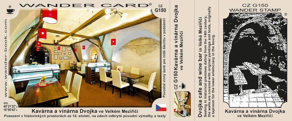 Kavárna a vinárna Dvojka ve Velkém Meziříčí