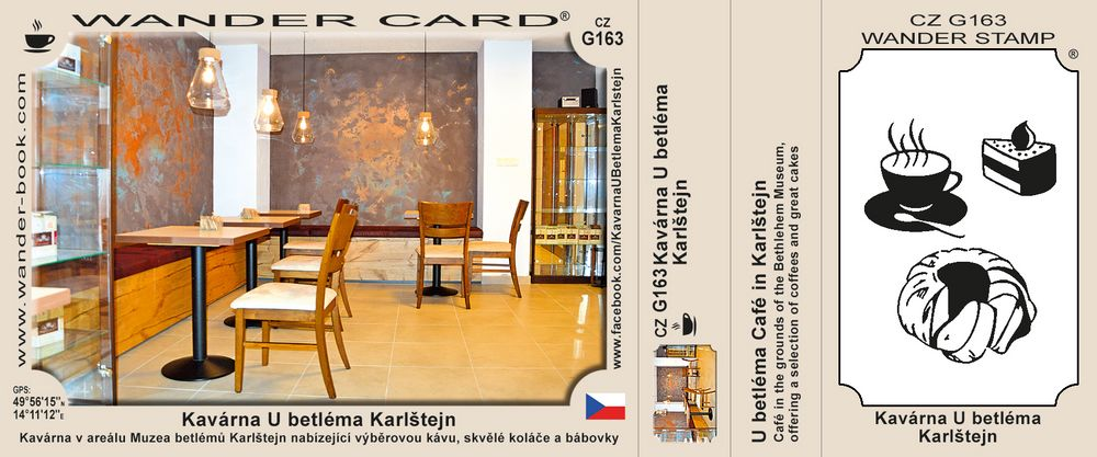 Kavárna U betléma Karlštejn