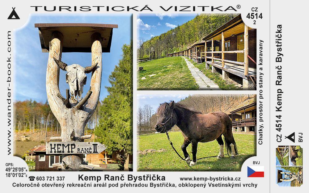 Kemp Ranč Bystřička