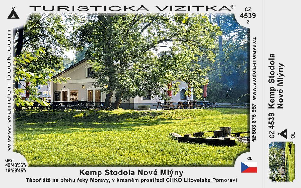 Kemp Stodola Nové Mlýny
