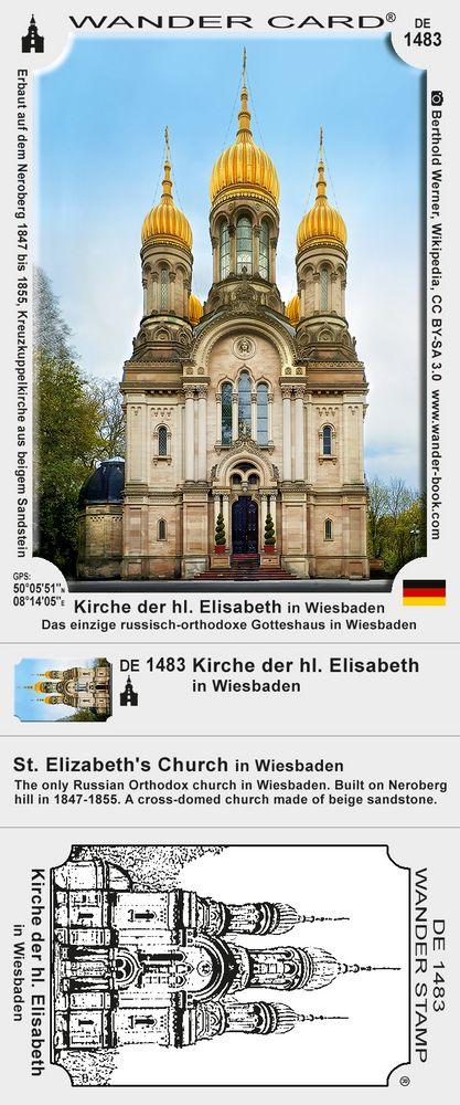 Kirche der hl. Elisabeth in Wiesbaden