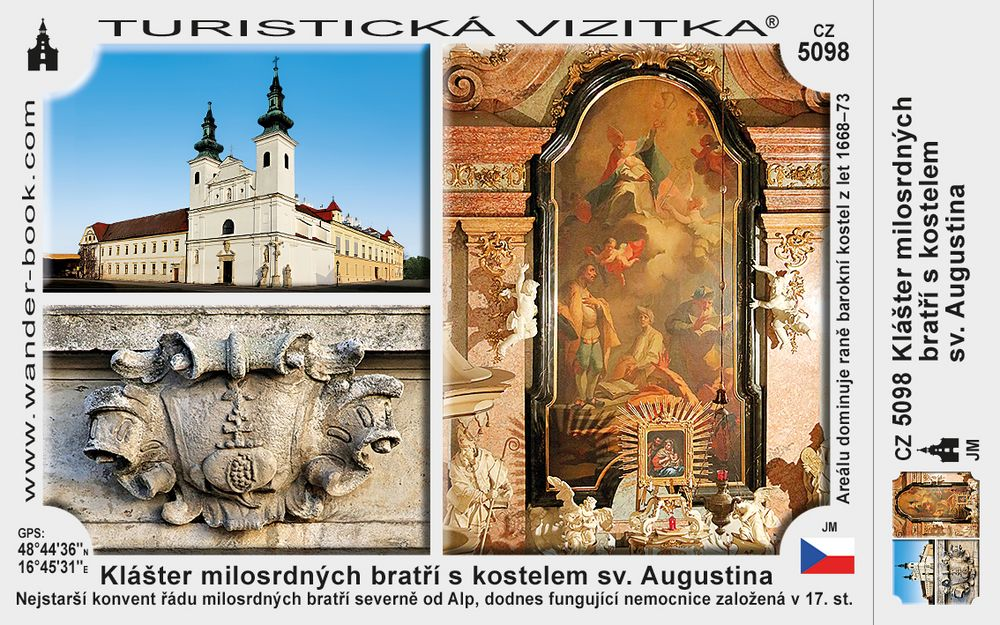 Klášter milosrdných bratří s kostelem sv. Augustina