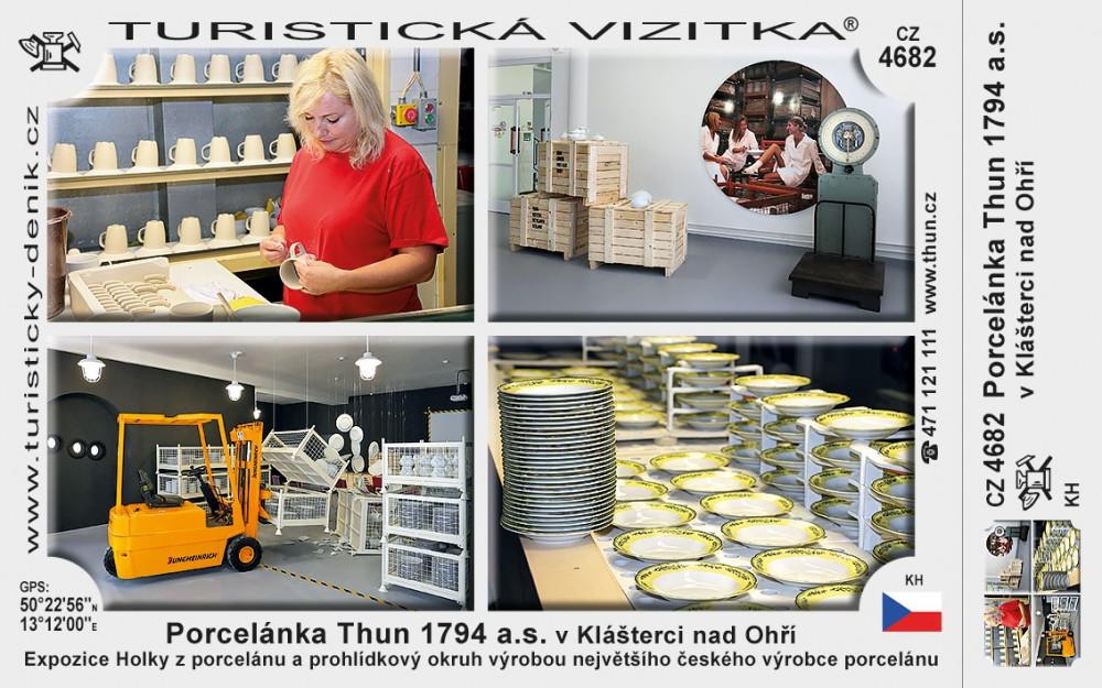 Porcelánka Thun 1794 a.s. v Klášterci nad Ohří