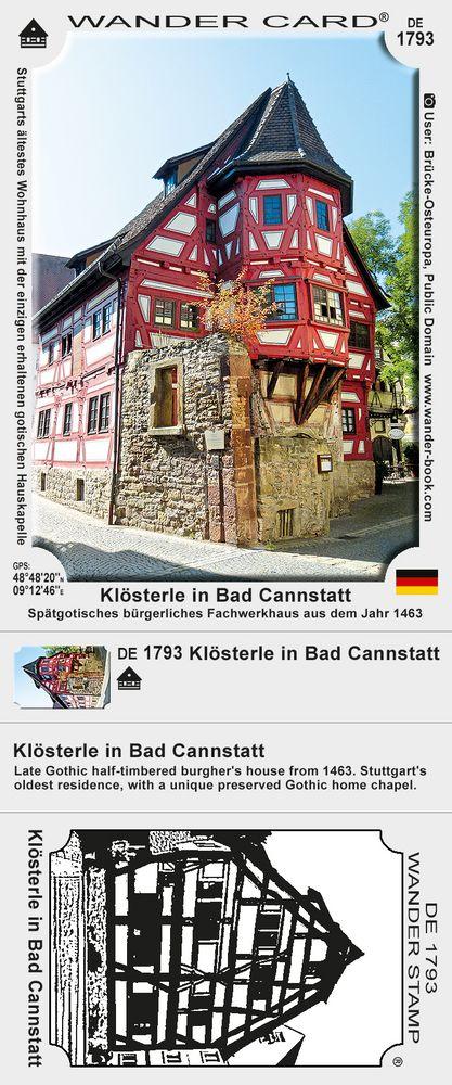Klösterle in Bad Cannstatt
