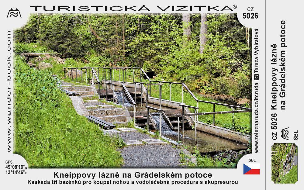 Kneippovy lázně na Grádelském potoce