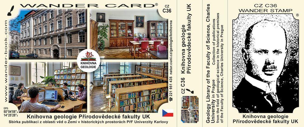 Knihovna geologie Přírodovědecké fakulty UK