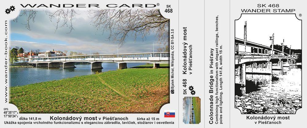 Kolonádový most v Piešťanoch