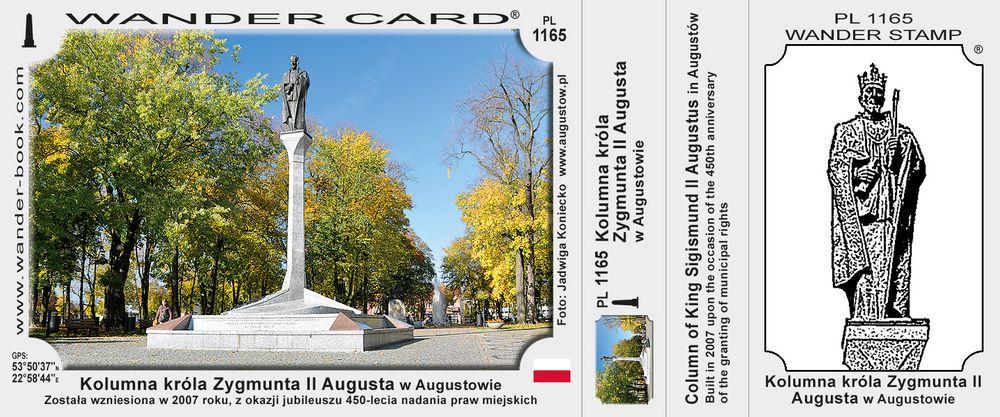 Kolumna króla Zygmunta II Augusta w Augustowie