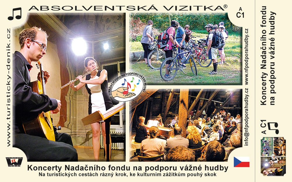 Koncerty Nadačního fondu na podporu vážné hudby
