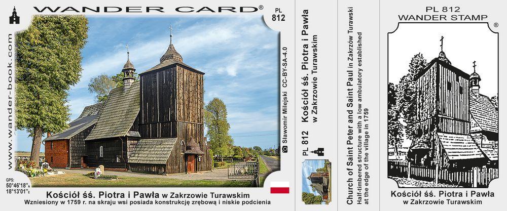 Kościół drewniany w Zakrzowie Turawskim