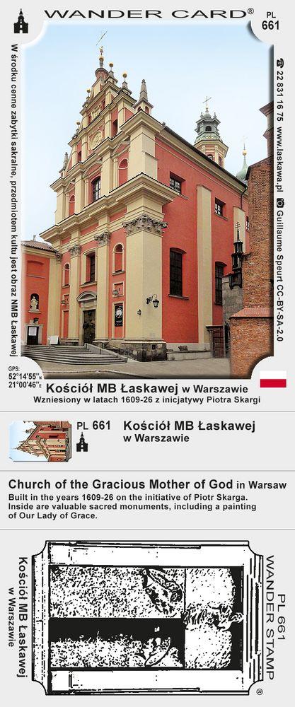 Kościół MB Łaskawej w Warszawie
