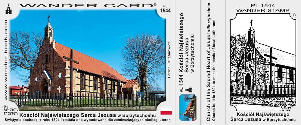 Kościół Najświętszego Serca Jezusa w Borzytuchomiu
