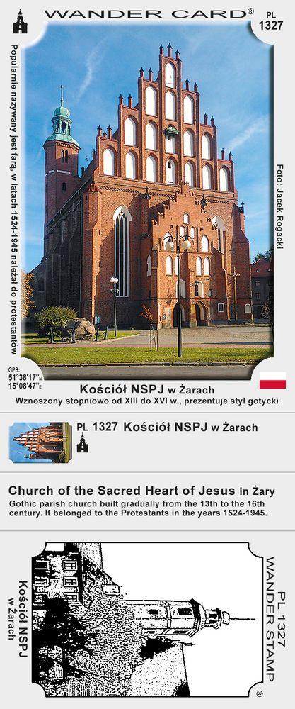 Kościół Najświętszego Serca Pana Jezusa w Żarach