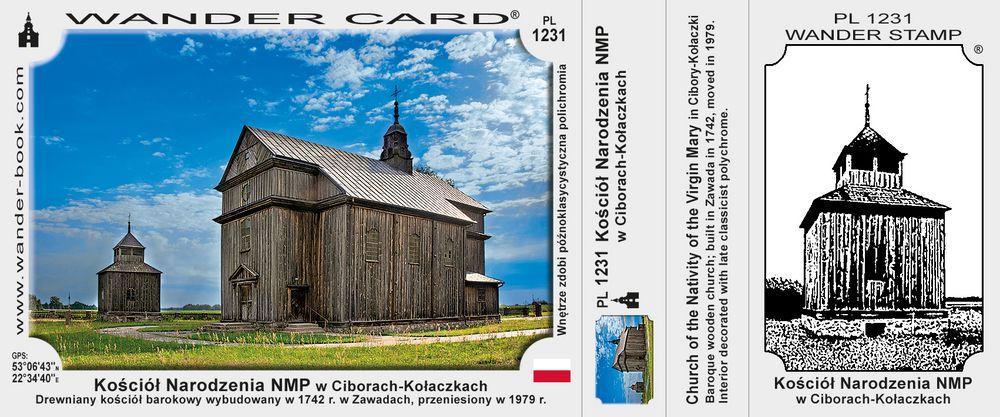 Kościół Narodzenia NMP w Ciborach-Kołaczkach