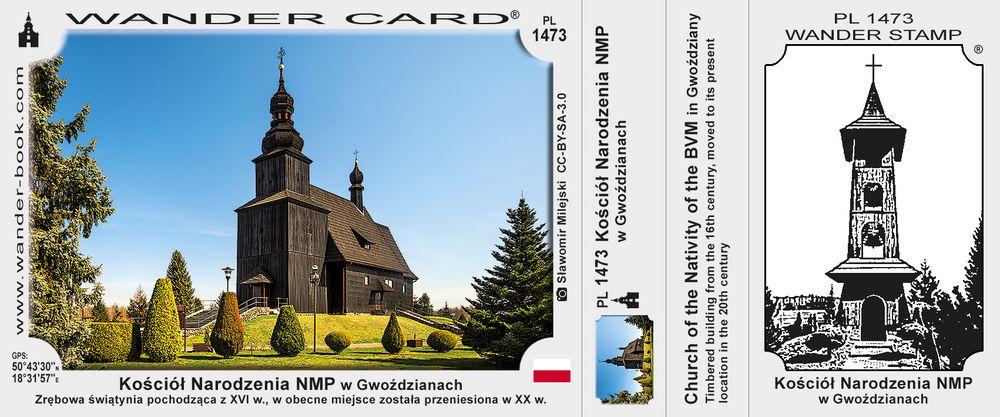 Kościół Narodzenia NMP w Gwoździanach