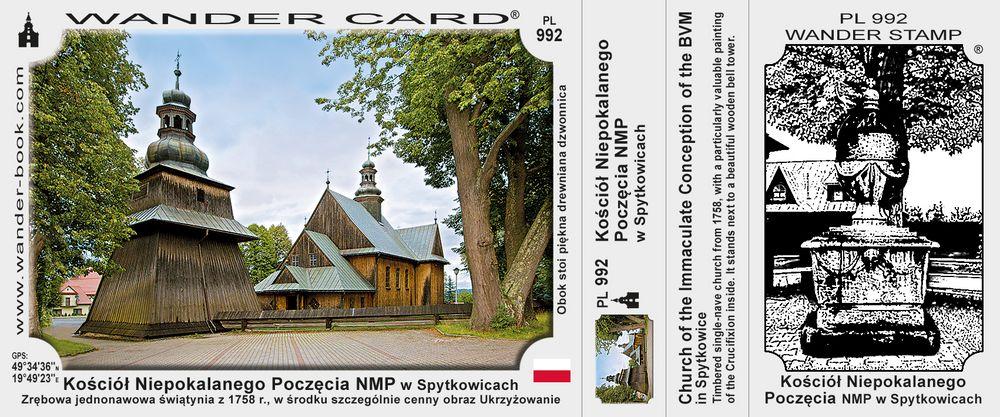 Kościół Niepokalanego Poczęcia NMP w Spytkowicach