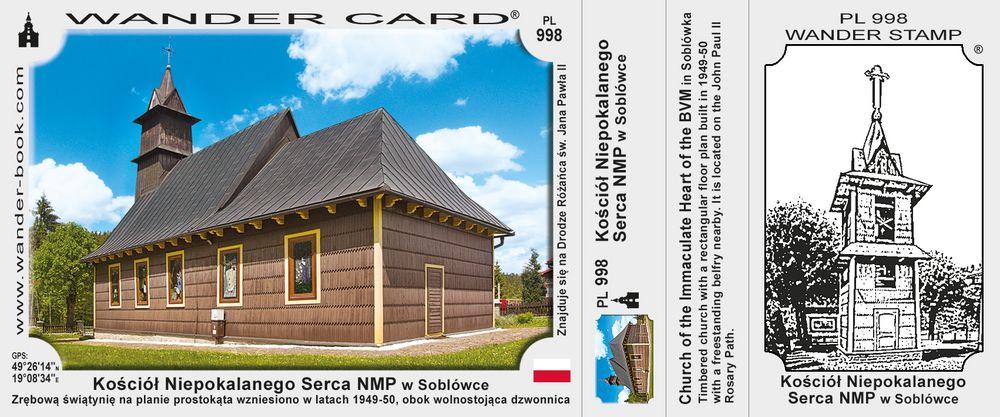 Kościół Niepokalanego Serca NMP w Soblówce