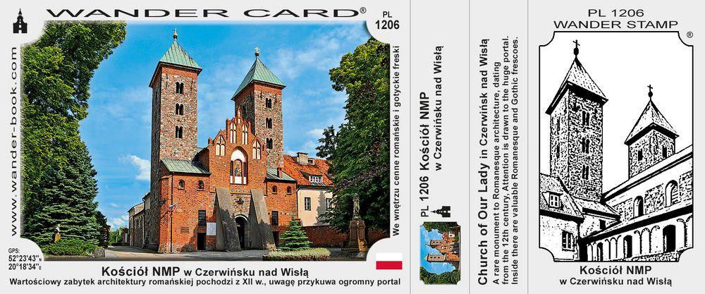 Kościół NMP w Czerwińsku nad Wisłą