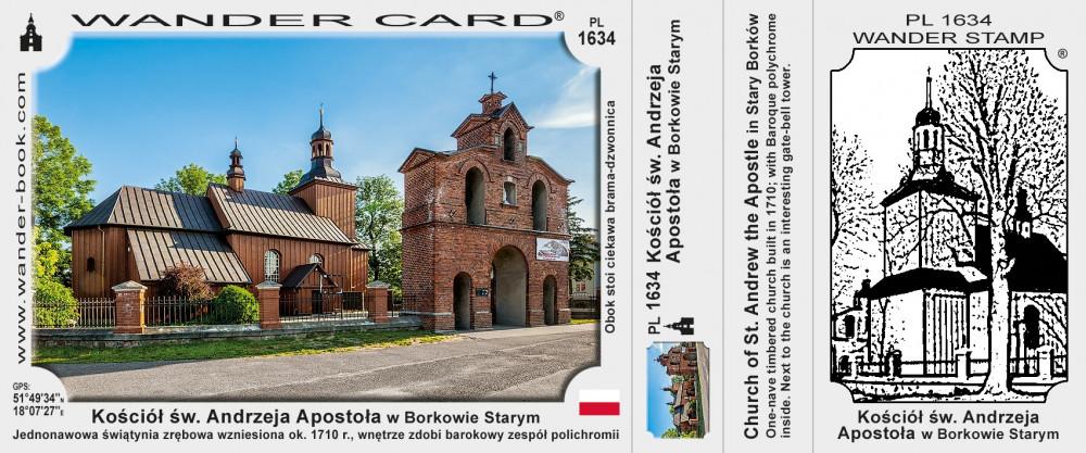 Kościół św. Andrzeja Apostoła w Borkowie Starym