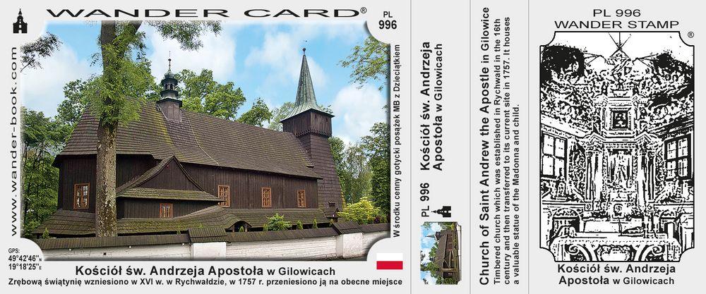 Kościół św. Andrzeja Apostoła w Gilowicach