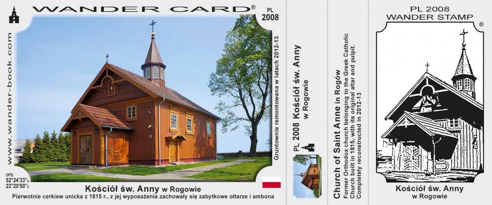 Kościół św. Anny w Rogowie