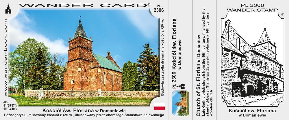 Kościół św. Floriana w Domaniewie