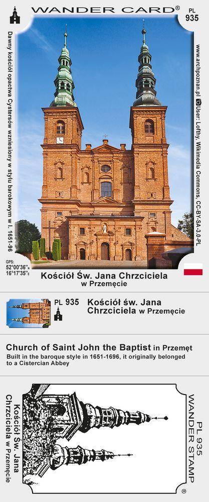 Kościół św. Jana Chrzciciela w Przemęcie