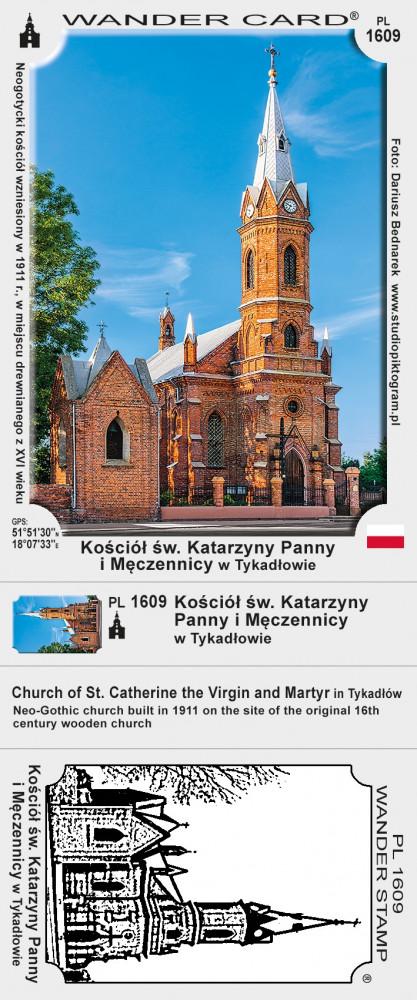 Kościół św. Katarzyny Panny i Męczennicy w Tykadłowie