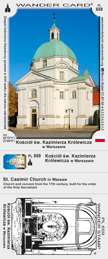 Kościół św. Kazimierza Królewicza w Warszawie