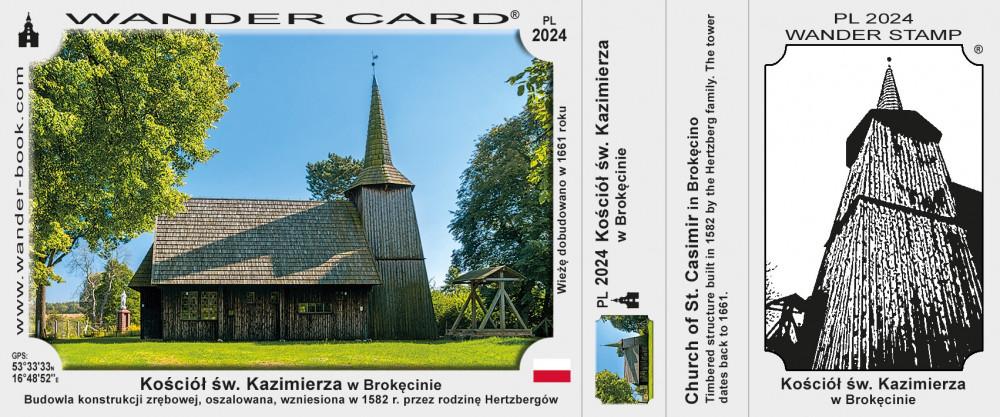 Kościół św. Kazimierza w Brokęcinie