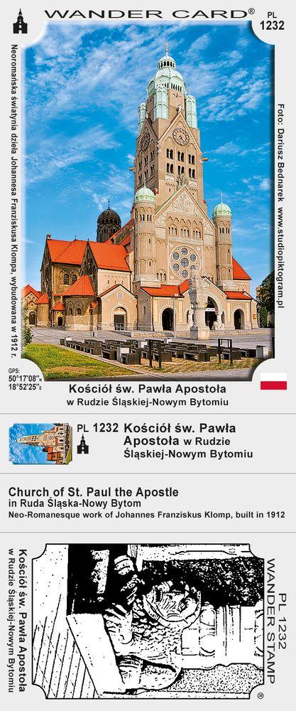 Kościół św. Pawła Apostoła w Rudzie Śląskiej-Nowym Bytomiu