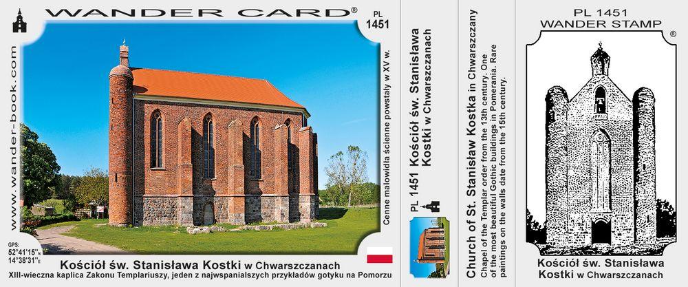 Kościół św. Stanisława Kostki w Chwarszczanach
