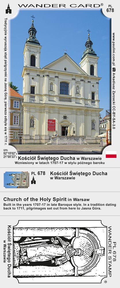 Kościół Świętego Ducha w Warszawie