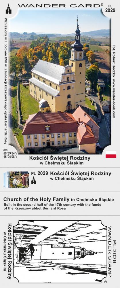 Kościół Świętej Rodziny w Chełmsku Śląskim