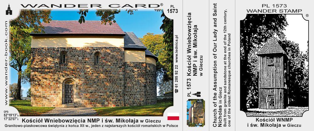 Kościół Wniebowzięcia Najświętszej Maryi Panny i św. Mikołaja w Gieczu