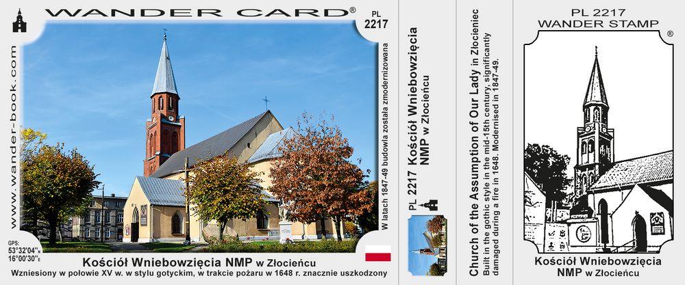 Kościół Wniebowzięcia Najświętszej Maryi Panny w Złocieńcu