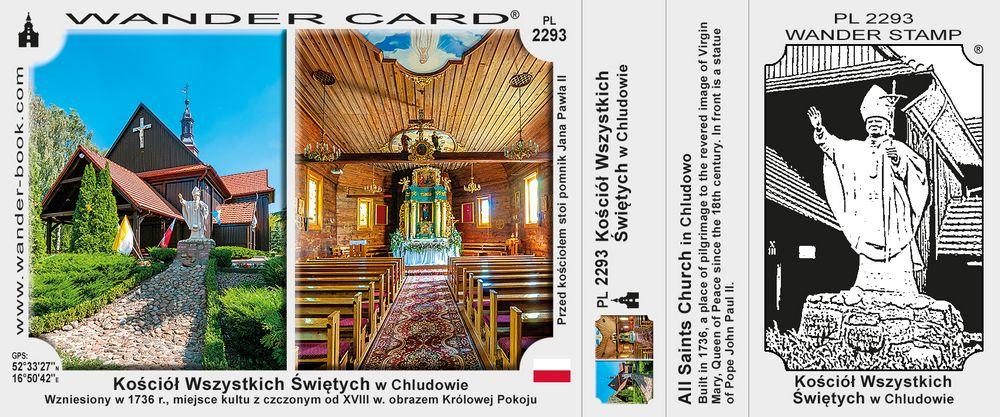 Kościół Wszystkich Świętych w Chludowie