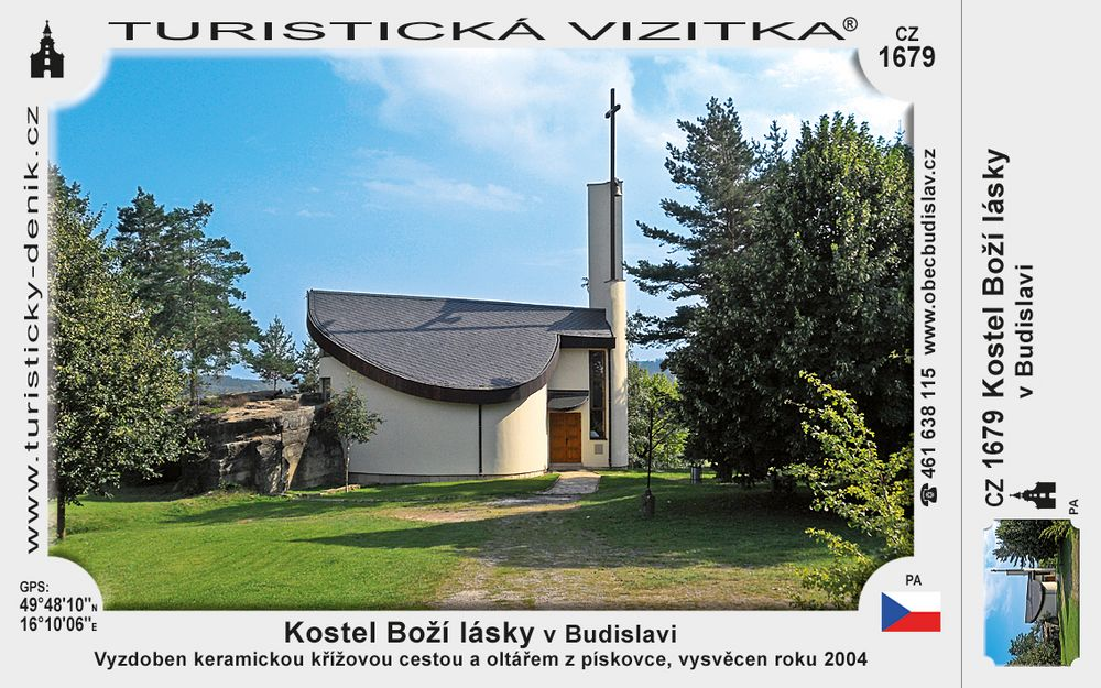 Kostel Boží lásky v Budislavi